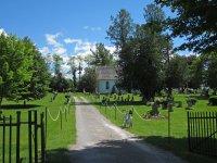 Scenic cemetery on Lifford.